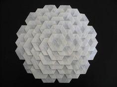 Origami: Hexagonal Tessellation