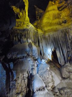 The Pipe Organ in Crystal Cave at Sequoia National Park