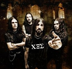 О творчестве Rotting Christ до «Sleep Of The Angels Rotting Christ, List Of Bands, Black Hair Dye, Pose, Band Photography, Extreme Metal, Alice In Chains, Heavy Metal Bands, Dimples