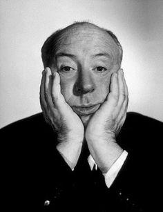"""Alfred Hitchcock (Leytonstone, 13 agosto 1899 – Los Angeles, 29 aprile 1980)  §§§   """"C'è qualcosa di più importante della logica: l'immaginazione. Se si pensa subito alla logica, non si può immaginare più niente"""". Ricorre oggi l'anniversario della scomparsa dell'indimenticato Maestro del brivido."""