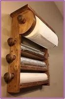 Kitchen Roll Holder, Diy Home Decor, Room Decor, Decorations For Home, Diy Casa, Into The Woods, Diy Holz, Diy Interior, Kitchen Interior