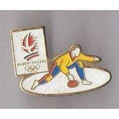 Pin's Curling / Jeux Olympiques D''albertville 92