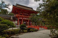 #77 Le rômon (porte-tour) du sanctuaire Kamigamo (Kyôto)