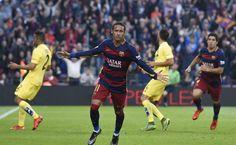 """Neymar tras su doblete al Villarreal: """"Estoy feliz por los goles"""" - El brasileño Neymar Jr se ha mostrado satisfecho con su actuación esta noche en el Camp Nou, donde ha marcado dos tantos al Villarreal (3-0), el seg..."""
