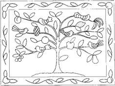 Tree of Life, Rug Pattern on L
