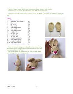 Easter Crochet, Crochet Baby, Free Crochet, Crochet Patterns Amigurumi, Crochet Toys, Diy Crafts For Gifts, Crochet Animals, Baby Toys, Free Pattern