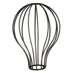 Pendelleuchten Edison Vintage Ballon Design Anhänger Licht Kronleuchter Käfig hängen Lampenschirm