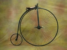 bicicletas Bicycle Sidecar, Old Bicycle, Steampunk Bicycle, Antique Bicycles, Penny Farthing, Vintage Cycles, Chain Drive, Bike Style, National Treasure