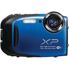 $105 Fujifilm XP70 16MP Digital Camera with 2.7-Inch LCD (Blue) (Certified Refurbished) Fujifilm http://www.amazon.com/dp/B00Q745CCY/ref=cm_sw_r_pi_dp_oT54ub0EHEMWD