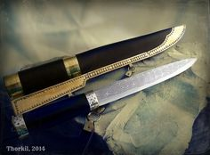 Viking style knife by Thorkil