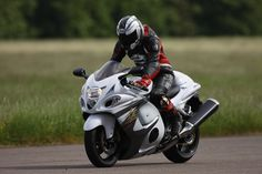The new brakes tested on the UK motorcycle press' first ride of the Suzuki Hayabusa ABS for 2013