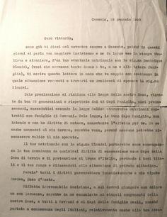 Lettera di Umberto II al figlio del 25 gennaio 1960 - foglio 1