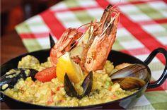 Bella Nova - Hol dir die Sonne auf den Tisch (6. - 12. März 2014) #silvrettamontafon #seafood #taste #kulinarik Paella, Guacamole, Nova, Mexican, Ethnic Recipes, Sun, Fresh, Food Food, Mexicans