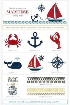 Lifestyle Crafts Maritime Collection Release (CHA 2012)