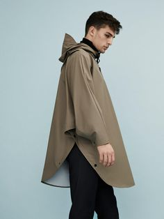 Fashion we like / Rain Coat / Brown / poncho / Bicycle / at mxdvs: Rains AW15…