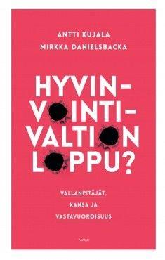Hyvinvointivaltion loppu? : vallanpitäjät, kansa ja vastavuoroisuus / Antti Kujala, Mirkka Danielsbacka.Hyvinvointivaltion loppu? käsittelee vallanpitäjien ja kansan suhteita paitsi nykyisten hyvinvointivaltioiden myös historiasta valittujen esimerkkitapausten valossa ja osoittaa, mitä voi tapahtua, kun odotus vastavuoroisuudesta yhteiskunnan eliitin ja tavallisen kansan välillä ei täyty.