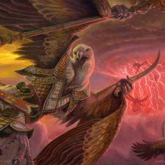 Abzan Skycaptain - Fate Reforged MtG Art