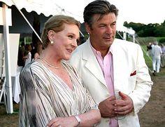Julie Andrews with Alec Baldwin