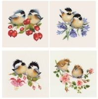 Fuchsia Chick-Chat - Valerie Pfeiffer Chickadee