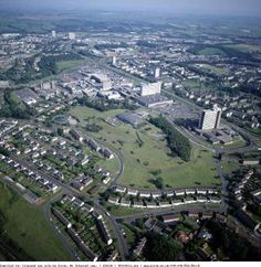 East Kilbride aerial view or Aerial View, Great Britain, Continents, Glasgow, Old Town, Hamilton, Paris Skyline, Brave, Travel Inspiration