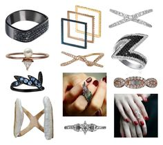 """""""Mid finger rings"""" by plukkajewelry ❤ liked on Polyvore featuring AS29, Plukka, Yeprem, JoÃ«lle Jewellery, Bijules, Tana Chung and Sophie Birgitt"""