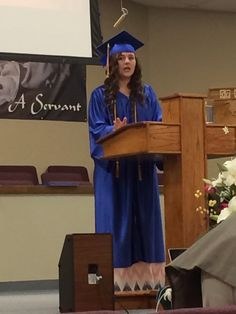 Her speech was awesome! And made us all cry