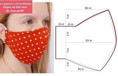 Sewing Hacks, Sewing Tutorials, Sewing Crafts, Sewing Projects, Easy Face Masks, Diy Face Mask, Sewing Stitches, Sewing Patterns, Sewing Slippers