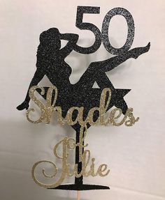 50 shades of grey topper Birthday Decor- Cake Topper Birthday Party Anniversary Party Deco Unique 50th Birthday Gifts, 50th Birthday Centerpieces, 50th Birthday Party Decorations, Moms 50th Birthday, 50th Birthday Quotes, 50th Birthday Cards, 50th Party, 50th Birthday Ideas For Women, Birthday Cookies