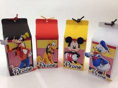 Caixinha Milk turma do Mickey