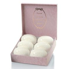 Rancé Lavande Grand Paradis Soapbox 6 x 220g by Rance. $82.00. Rancé soaps are appropriate for even the most delicate and sensitive skin types.. absolute & natural ingredients chosen for their freshness and purity. hand made, triple milled; hand wrapped and presented in hand made box. 6 x 7.7oz/220g bars. Rancé uses Alps Lavender in this formula. Alps Lavender tends to be softer and more subtle than the French or English Lavenders. This is sure to thrill all fans of Lave...