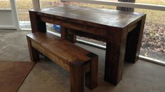Vintage Parsons Bench