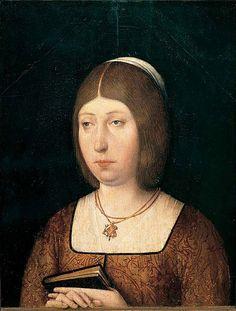 Isabel de Castilla. Juan de Flandes / cca 1460 - 1510 /