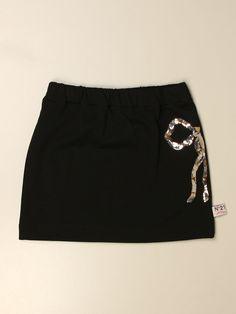 Mini Skirt  Modern Design  Glamorouschic Style  Elasticated Waist  Cotton Fabric  Maxi Side Bow Studded With Sequins Short Skirts, Short Dresses, Mini Skirts, Bow Skirt, Skirts For Kids, Fashion Over 50, Fashion Outlet, Kids Outfits, Modern Design
