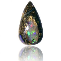 1.49ct Solid Boulder Opal Free Shipping, Lifetime Guarantee SKU: 1916A017 on Etsy, $49.00