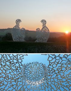 Type Face: Monumental Figurative Sculptures Made of Text