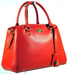 Coach Signature Mini Margot Carryall F34605: Msrp $325 Imperial Red Satchel. Save 32% on the Coach Signature Mini Margot Carryall F34605: Msrp $325 Imperial Red Satchel! This satchel is a top 10 member favorite on Tradesy. See how much you can save