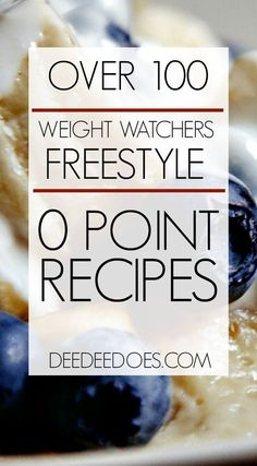 Here are 100 Weight Watchers Freestyle Zero Points recipes to enjoy. These Weight Watchers Freestyle 0 Point Healthy Recipes are family friendly too! Weight Watchers Snacks, Weight Loss Meals, Petit Déjeuner Weight Watcher, Points Weight Watchers, Weight Watchers Meal Plans, Weight Watcher Desserts, Weight Watchers Breakfast, Weight Watcher Dinners, Drinks For Weight Loss