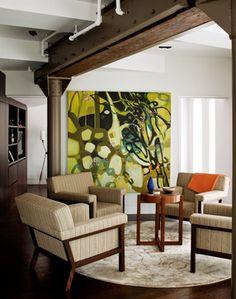 Duane Street Duplex contemporary-living-room