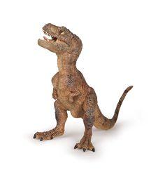Papo - T-Rex, figura de dinosaurio pintada a mano, color marrón (2055029): Amazon.es: Juguetes y juegos