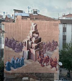 """Artist :Chazme Sepe """"New Mural Istanbul"""""""