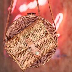 Super cute Lea bag...✔️ #cecelbag #CecelLea #ratten #handwoven #handbag