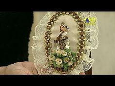 Beatriz Elena Bolivar Ortiz shared a video Diy Videos, Decoupage, Diy And Crafts, Christmas Crafts, Embroidery, Beads, Youtube, How To Make, Gifts