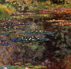 Water-Lilies2 1904 | Claude Monet | Oil Painting - Prices starting at $148