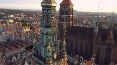 Beautiful shots of Gdańsk. / Piękne ujęcia Gdańska.