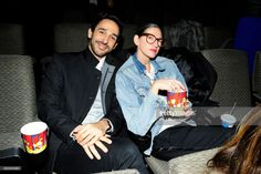 Amir Arison and Jenna Lyons attend the New York premiere of 'Phantom Thread' at The Film Society of Lincoln Center, Walter Reade Theatre on December 11, 2017 in New York City.