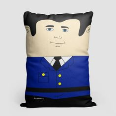 Autopilot - Throw Pillow - airportag  - 1