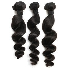 The loose curl #Brazilianhair sew in weave provides a natural look with beautiful hairstyle, can be bleached, colored, flat-ironed as you want.#goodbrazilianhair
