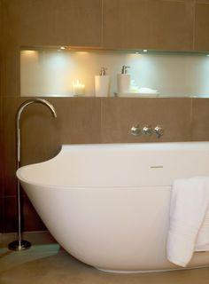 Highgate House   Staffan Tollgård Bathroom Inspo, Bathroom Inspiration, Bathroom Interior, Bathroom Ideas, Residential Interior Design, Commercial Interior Design, Commercial Interiors, Contemporary Bathrooms, Modern Bathroom