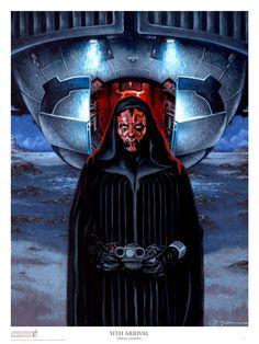 """""""Sith Arrival"""" /by Doug Cowan"""