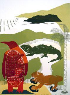Parnell Gallery artist Sheyne Tuffery Island Hopping http://www.parnellgallery.co.nz/artworks/artist-sheyne-tuffery/island-hopping/